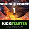 Gemini Force One Kickstarter progress – 17 days to go!
